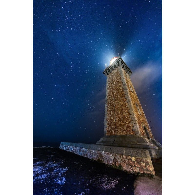 Phare de Port-Vendres la nuit