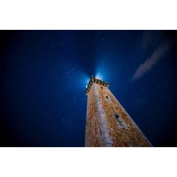 Le phare de Port-Vendres de nuit